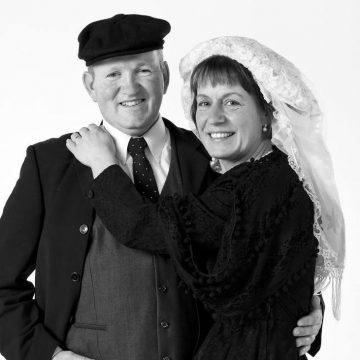 Boerenpaar van Stichting Boerenbruiloft Boekel