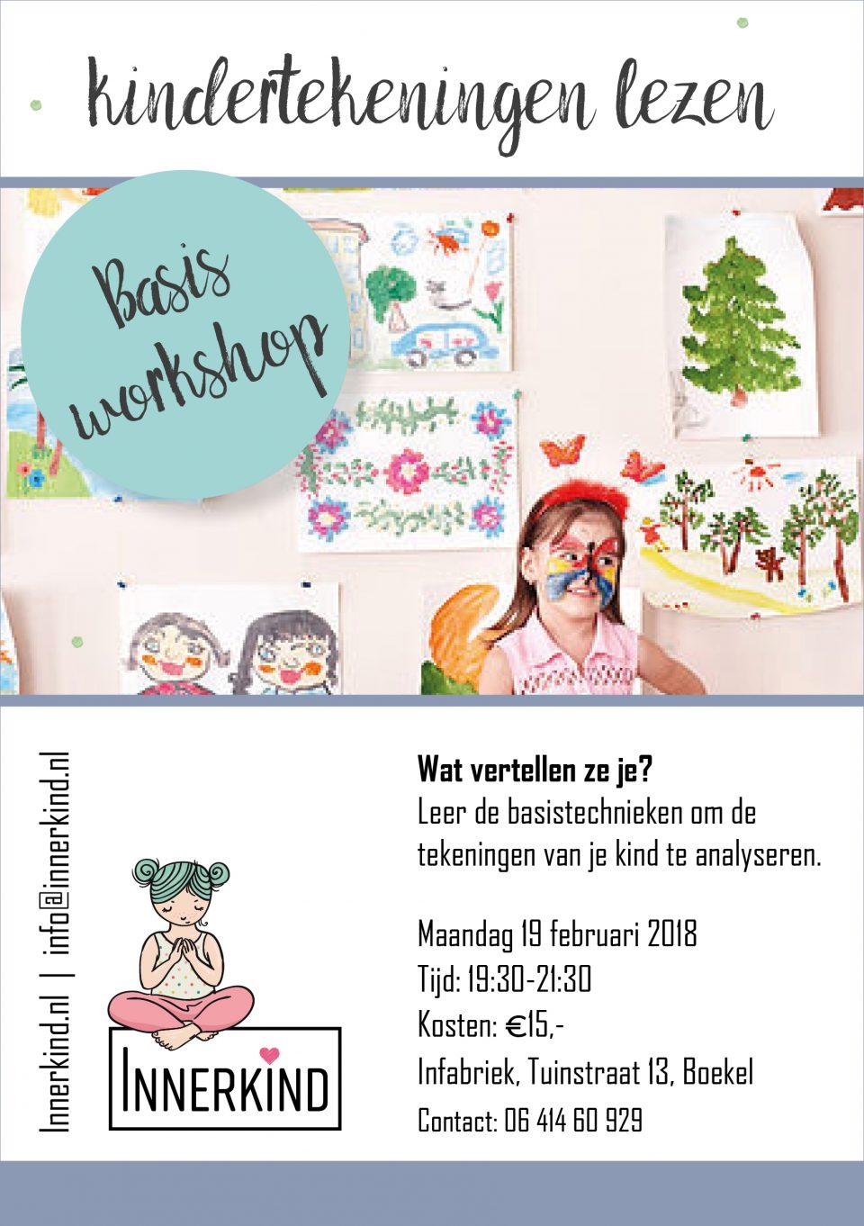 Workshop Kindertekening Lezen Bij Innerkind