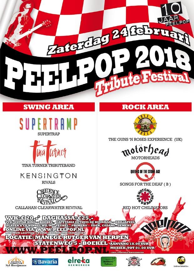 Peelpop 2018: Het aftellen is begonnen!