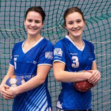 Zusjes van Sleeuwen langer bij Handbal Venlo