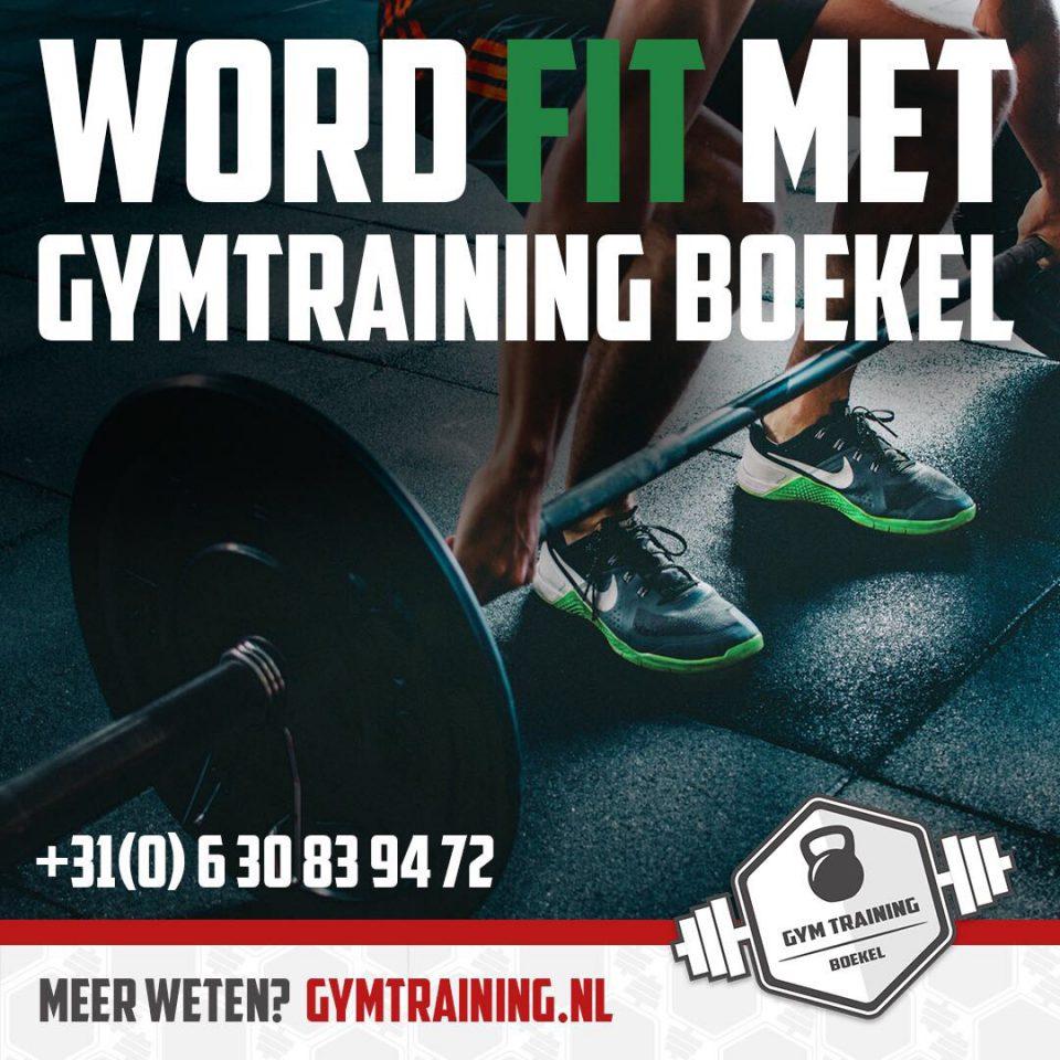 e1bbfab45da Nieuw in Boekel: Gym Training Boekel