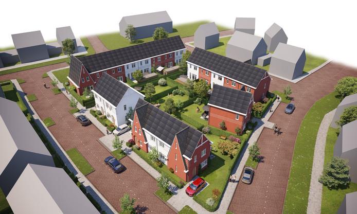 Projectontwikkelaar 18 woningen op De Run bekend