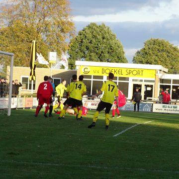 Boekel Sport speelt 1-1 tegen rode lantaarndrager