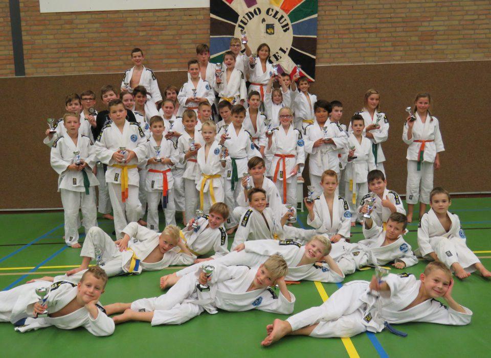 Uitslag clubkampioenschappen judoclub