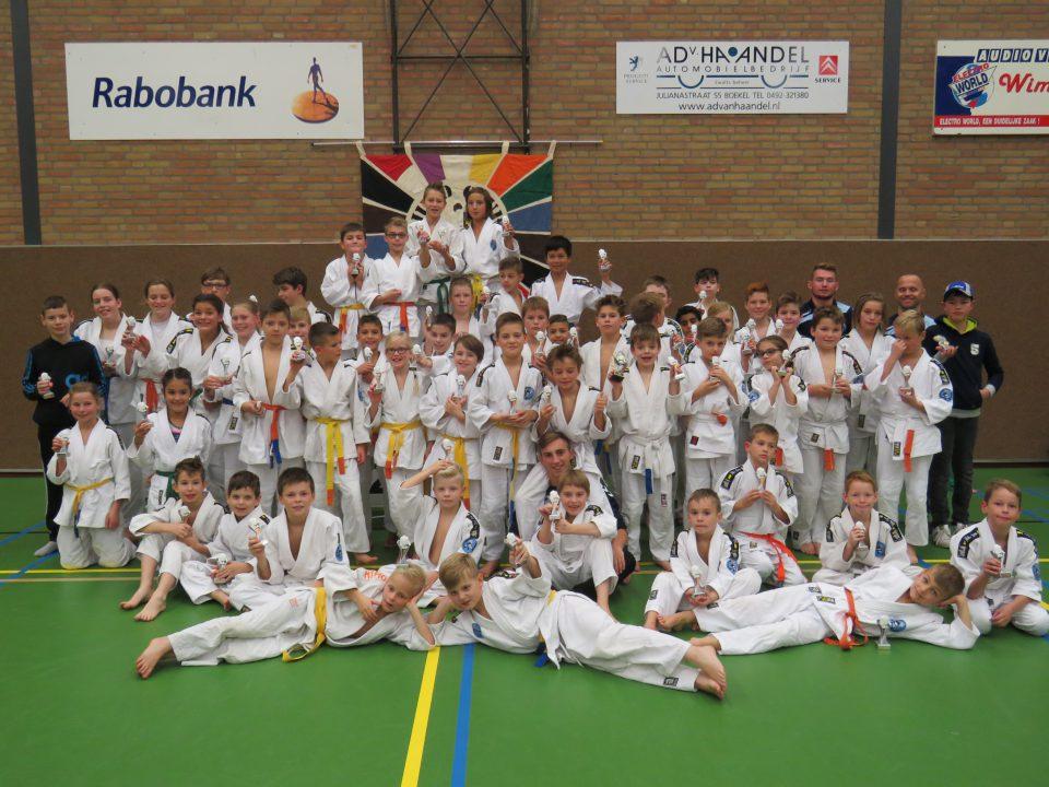 Club kampioenschappen Judoclub