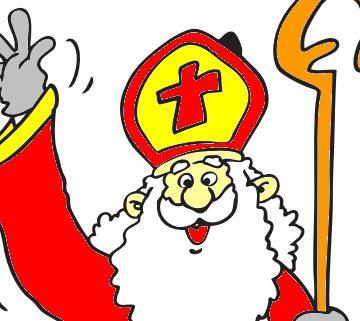 Kleurplaat Sinterklaas intocht 2018