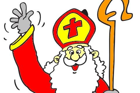 Sinterklaas Kleurplaten Actie.Kleurplaat Sinterklaas Intocht 2018