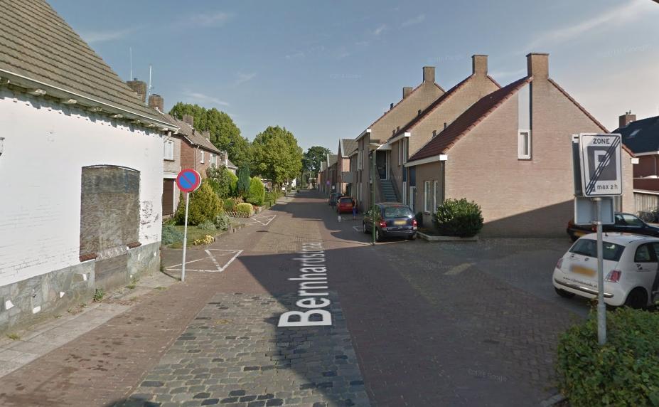 Fietsstraat bij Kindpark Boekel