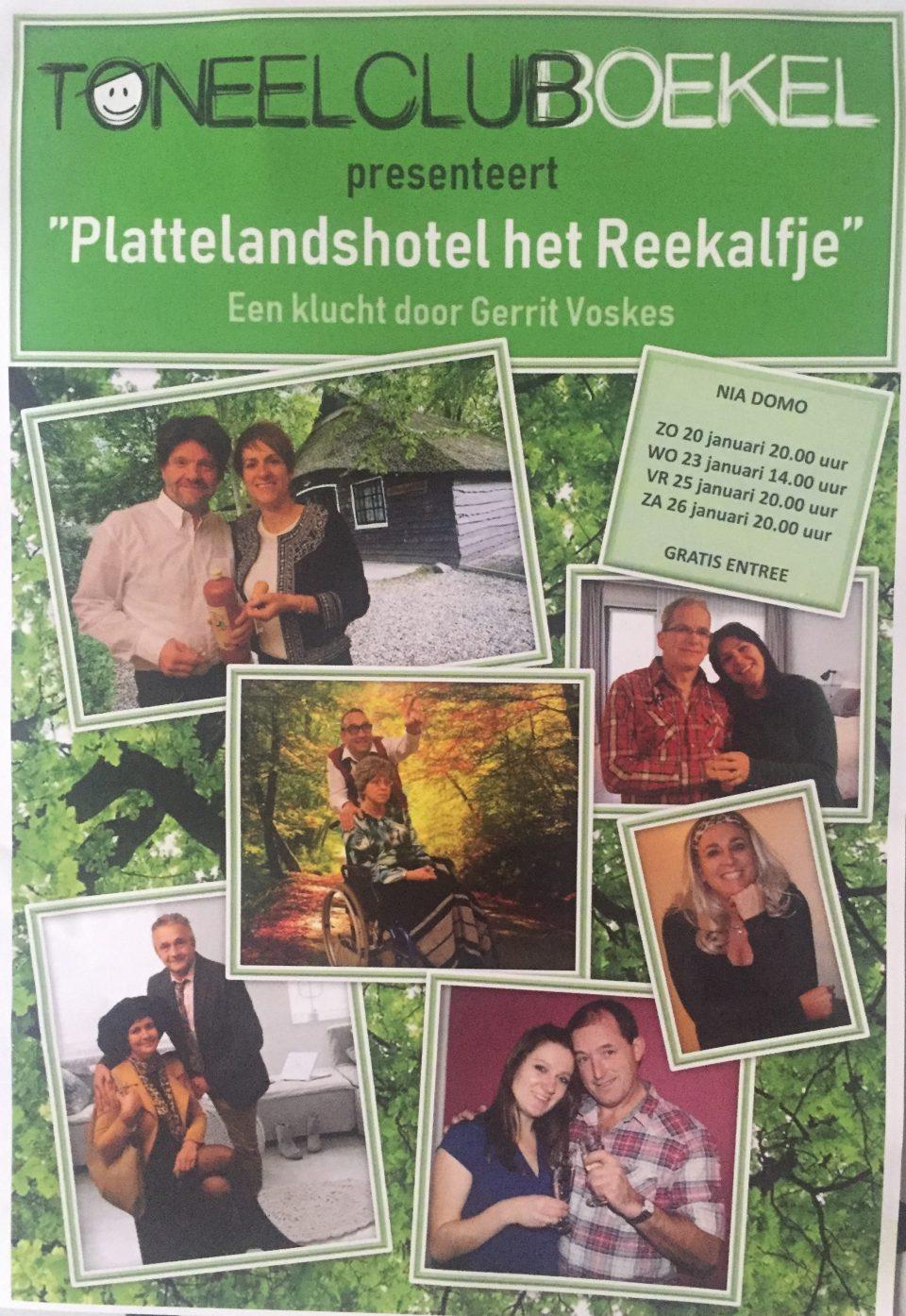 Toneelclub Boekel voorstelling