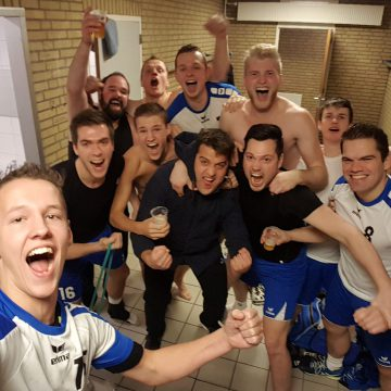 Handballers Habo'95 sluit jaar met overwinning af