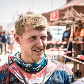 Mark Tielemans leider in 'Malle Moto Class' Dakar 2019