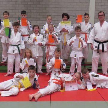 Diploma-uitreiking Judoclub