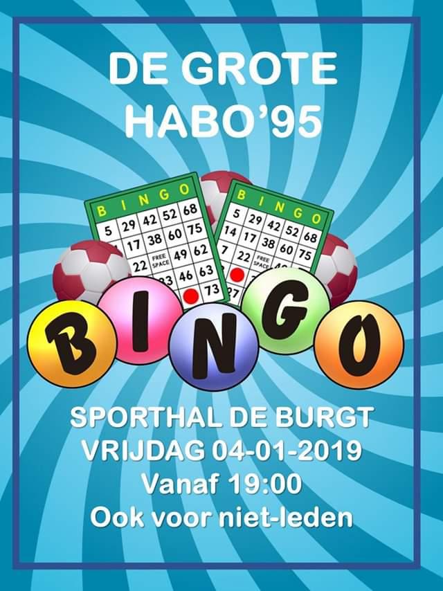 De grote HABO'95 bingo