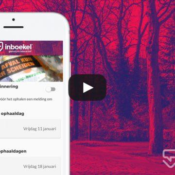 inBoekel app update: 'afvalwijzer'