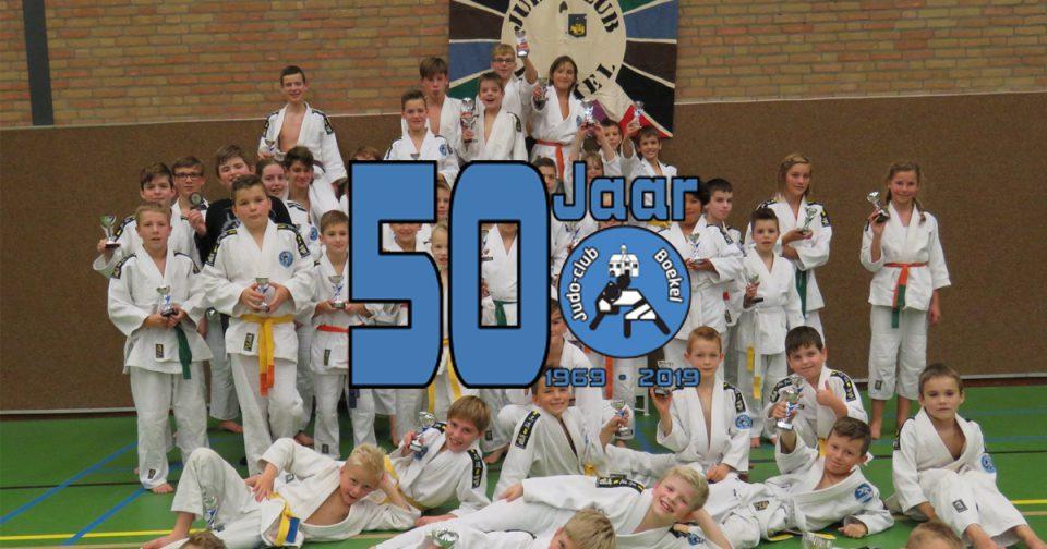 50 jarig jubileum Judoclub Boekel