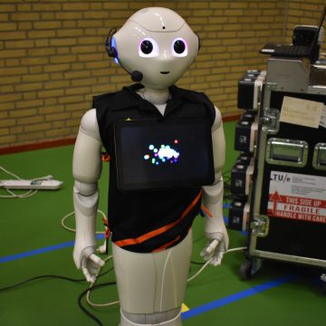 Kunnen robots ook voetballen?