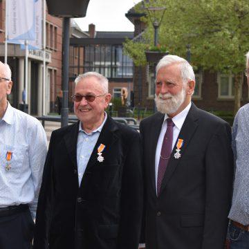 Vier lintjes uitgereikt in gemeente Boekel