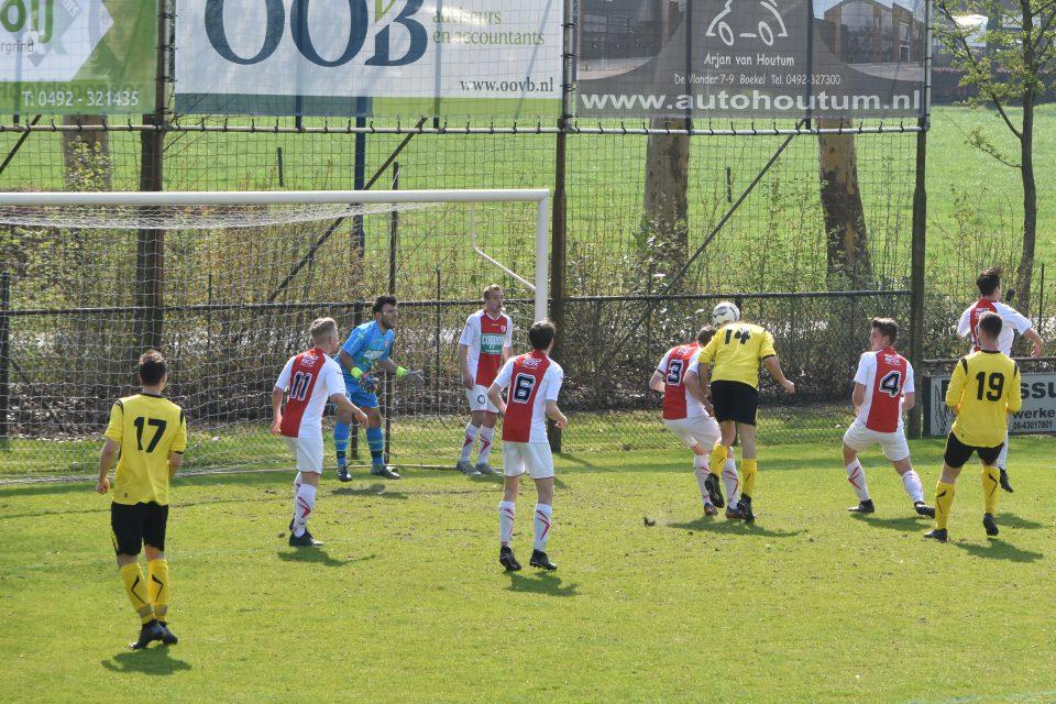 Boekel Sport verslaat Volkel en kijkt omhoog op ranglijst