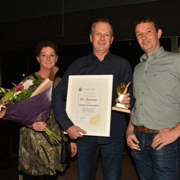 Wim Bouwmans vrijwilliger van het jaar bij Boekel Sport