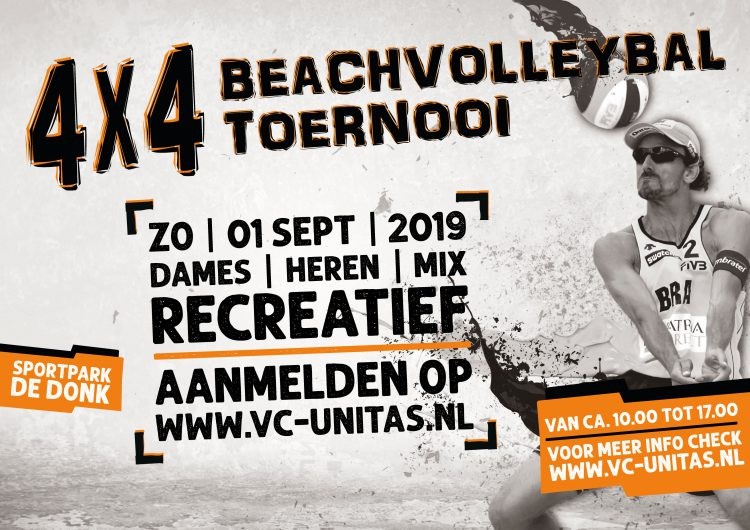 Unitas Recreanten Beachtoernooi 2019