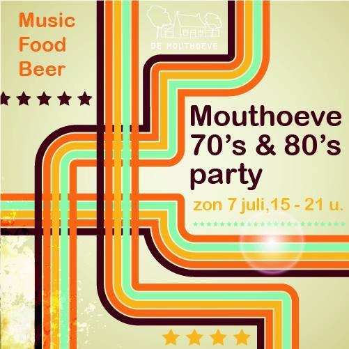 70's-80's party bij Brasserie de Mouthoeve