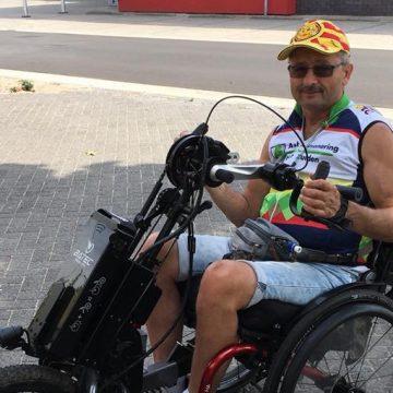 Willy van de Valk naar HandbikeBattle in Oostenrijk