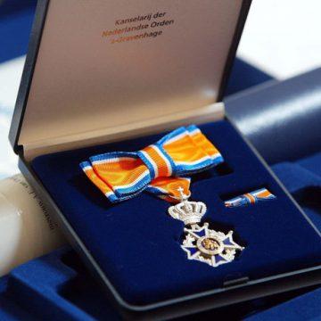 Harrie van den Heuvel Lid in de Orde van oranje Nassau