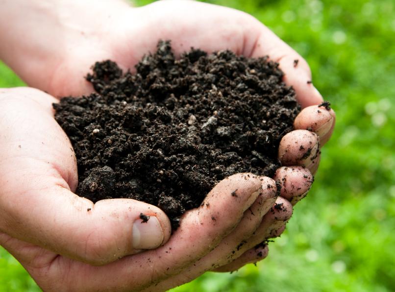 Gratis compost in oktober