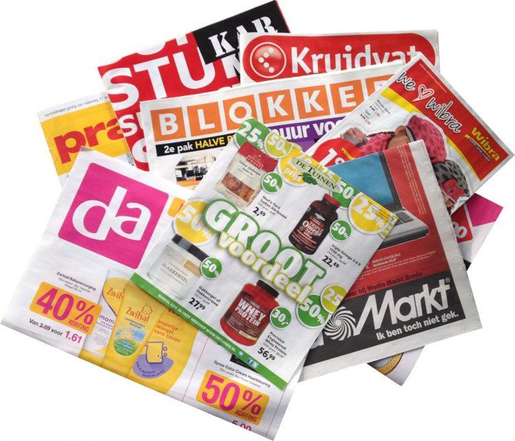 Gemiddeld gezin in gemeente Boekel krijgt jaarlijks 33 kilo aan reclamefolders