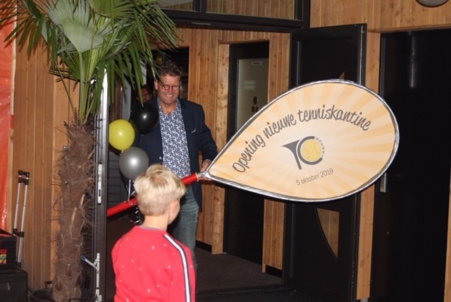 Feestelijke opening kantine TC Boekel