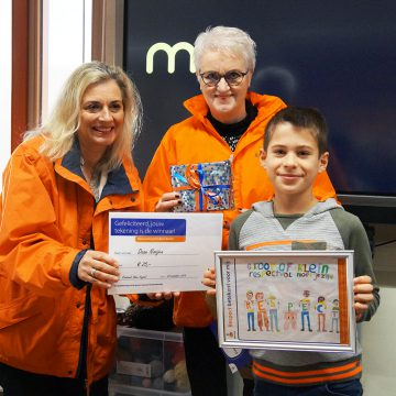 Rabobank verrast winnaars tekenwedstrijd Kindpark Boekel