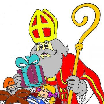 Kleurwedstrijd Sinterklaas intocht 2019