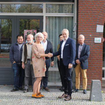 Venhorst neemt nieuw Europees Wifi-netwerk in gebruik