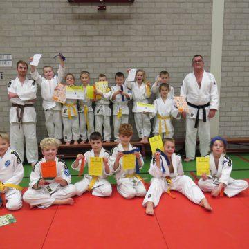 Diploma-uitreiking Judoclub Boekel