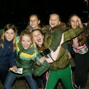 Discoskaten op het Sint Agathaplein