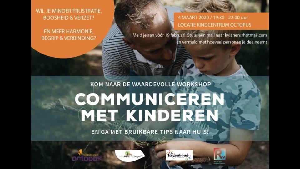 Respect.Boekel workshop 'Communiceren met kinderen' gaat verhuizen