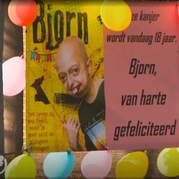 18e verjaardag Bjorn Nabuurs bij Hart van Nederland