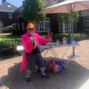 Zeer geslaagde buitenbingo bij buurtvereniging Beatrixlaan-De Lage Schoense