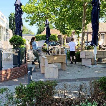 Extra ruimte voor terrassen tijdens Boekel kermis