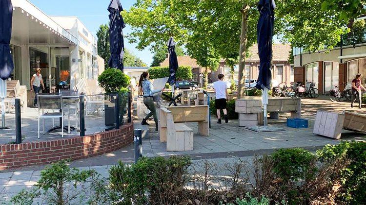 Ook in gemeente Boekel worden horeca terrassen ruimer opgezet