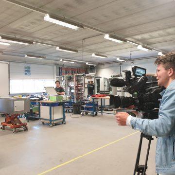 RTL Nieuws op bezoek bij Van Doren Engineers