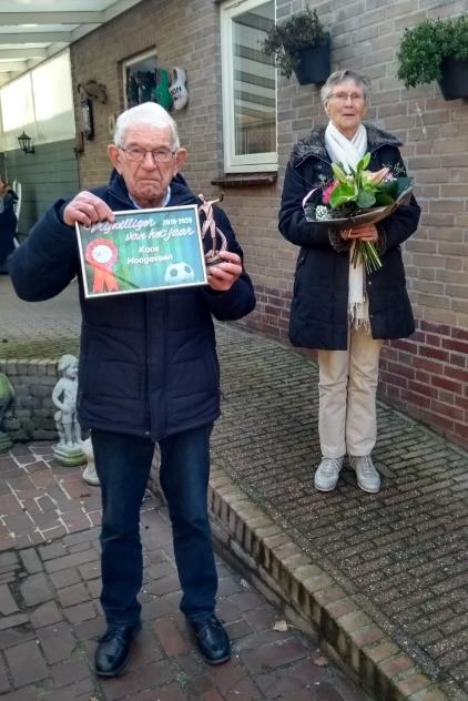 Koos Hoogeveen Clubman  bij Venhorst