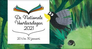 Nationale Voorleesdagen januari 2021 op Kindcentrum Octopus