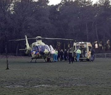 Motorcrosser raakt zwaargewond bij ongeval op crossterrein in Boekel