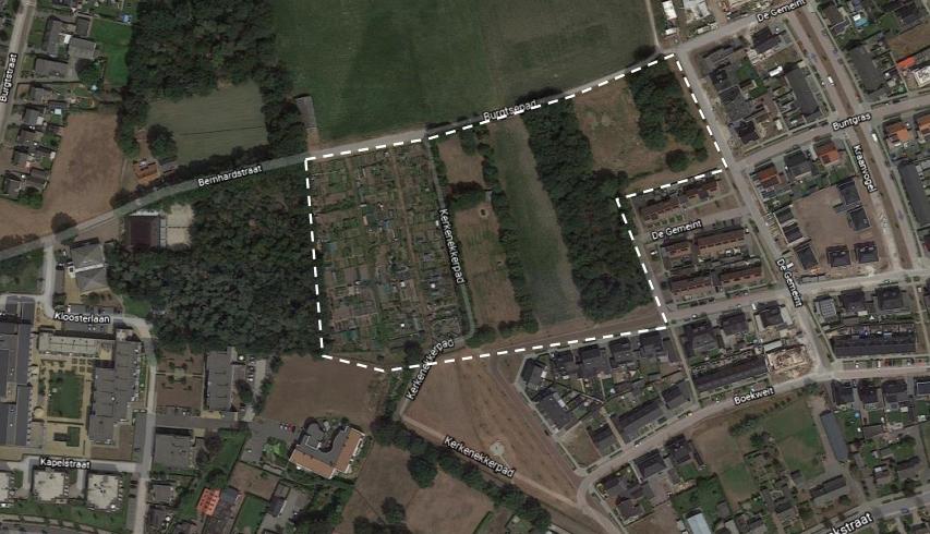 Wijziging van bouwplan De Burgt door vertakking Peelrandbreuk