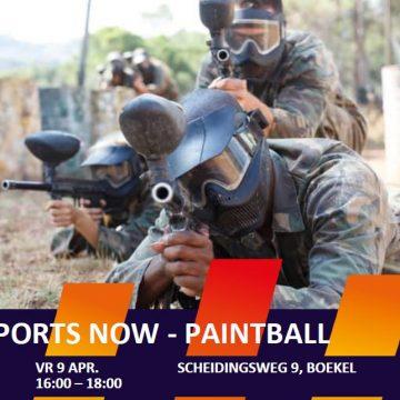 Paintball activiteit voor jeugd 13 t/ 18 jaar uit Boekel en Venhorst!