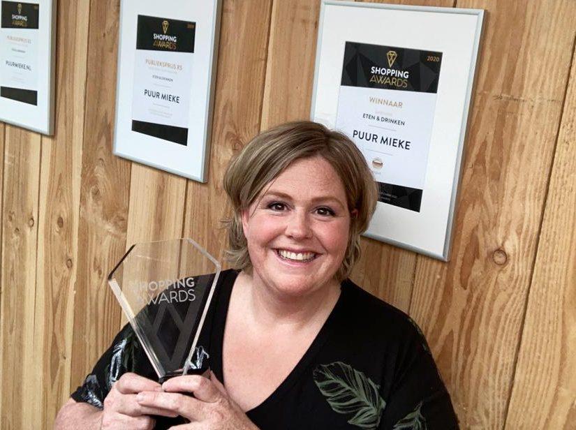 Webshop van Boekelse Mieke wint titel 'Beste webwinkel van Nederland'