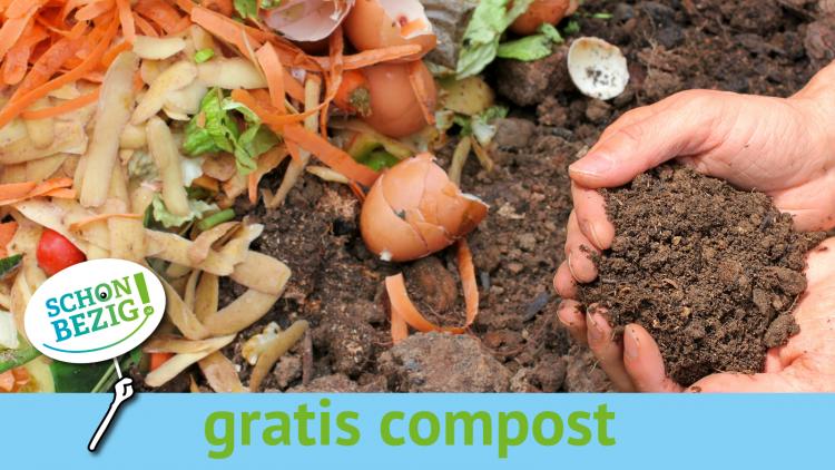 Vier weken gratis compost op de minimilieustraat