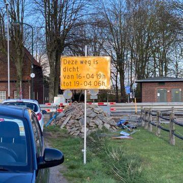 Weekendafsluiting N605 Volkelseweg t.h.v. Molenwijk