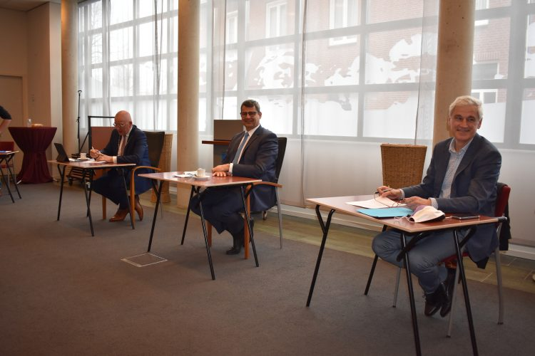 Gemeente Boekel tekent samenwerkingsovereenkomst met ontwikkelingsmaatschappij Ruimte voor Ruimte